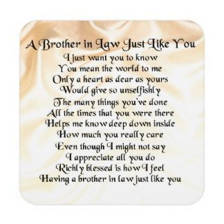 Happy Birthday Brother In Law Poems