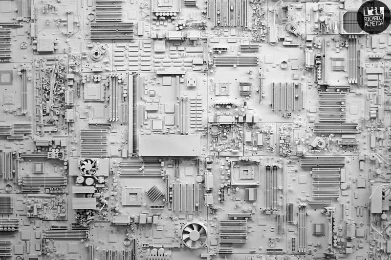 Circuit Board City by deepkitsch on DeviantArt in 2020