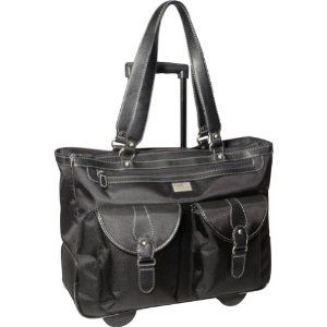 18 inch rolling laptop tote/bag. This case fits laptops with upto 18.4 inch screens