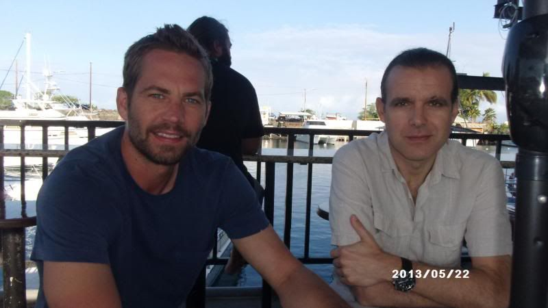 Paul Walker And Dr. Enric Sala