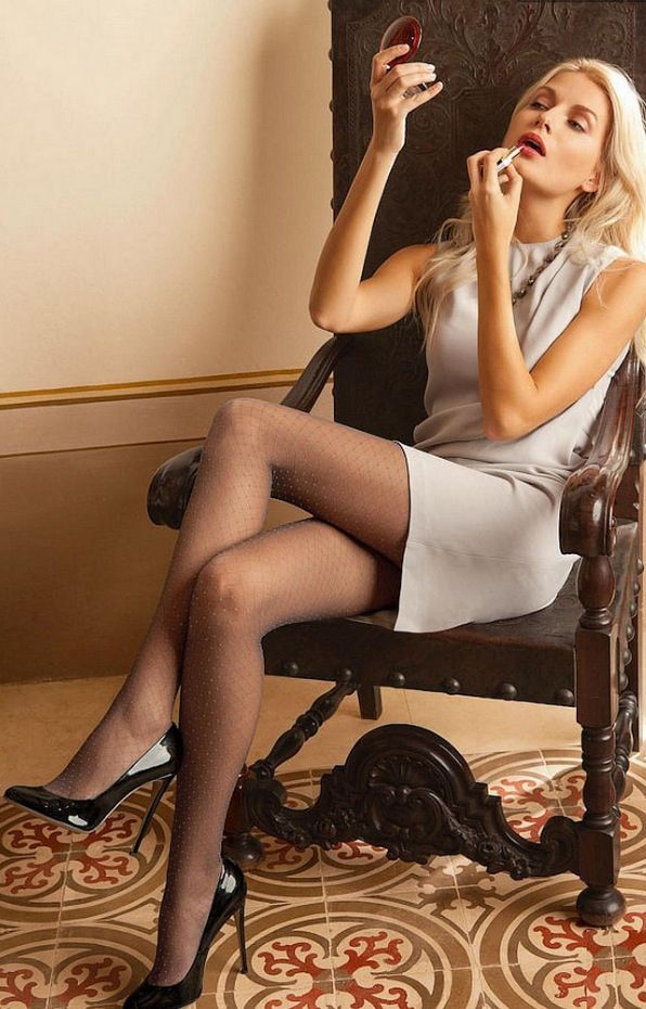 High heel pantyhose stocking