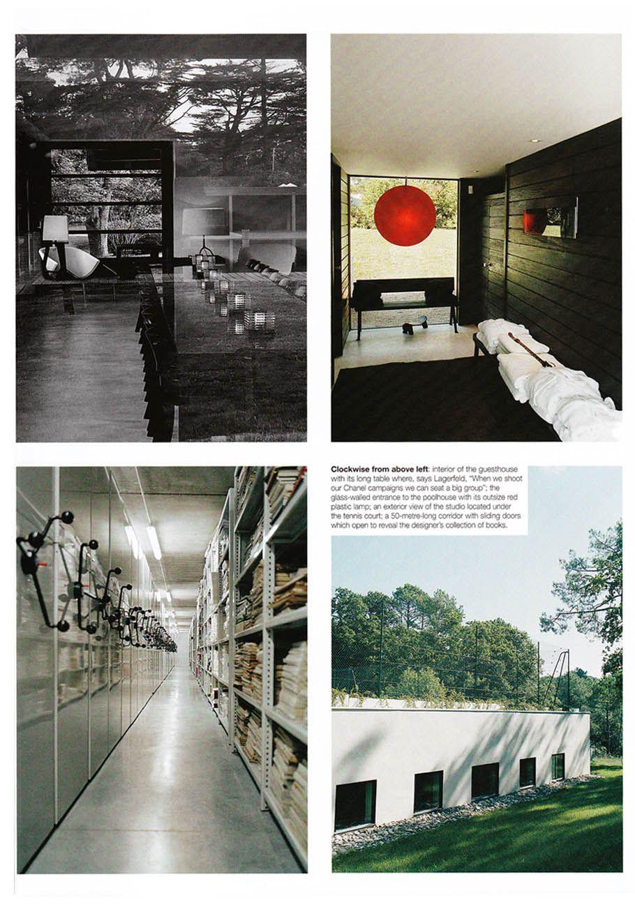 Lagerfeld S Biarritz Home Art Decoratif Interieur Les Arts
