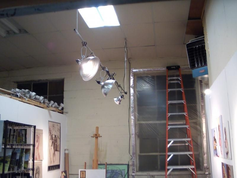 Art studio track lighting google search art studio ideas art studio track lighting google search aloadofball Image collections