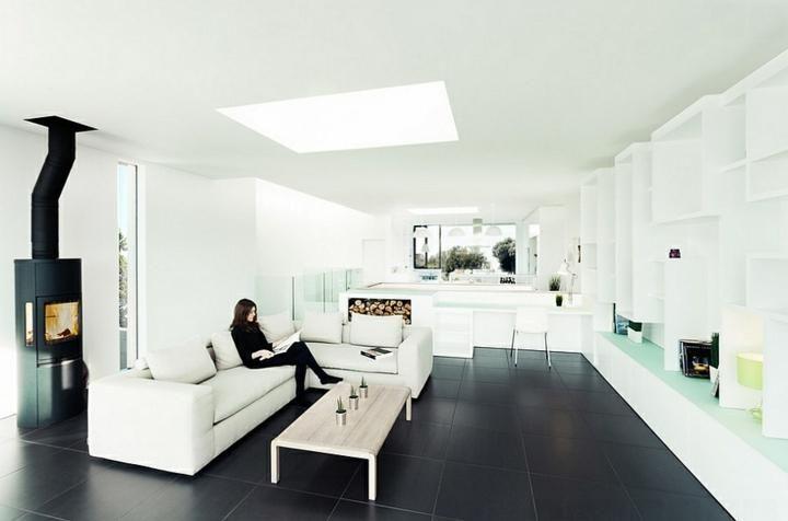 Farbe schwarz Ideen für Böden und moderne Inneneinrichtung Haus - farbe wohnzimmer ideen