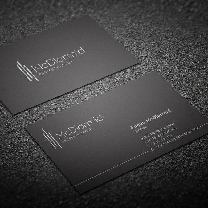 Simple but sophisticated business card by corporateart business simple but sophisticated business card by corporateart colourmoves