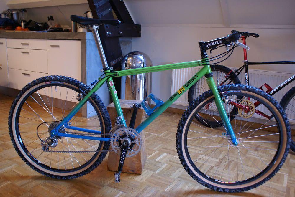 b680ccfc2900 v) Fat Chance Yo Eddy '91 Aquafade | cycling | Moutain bike, Mt bike ...