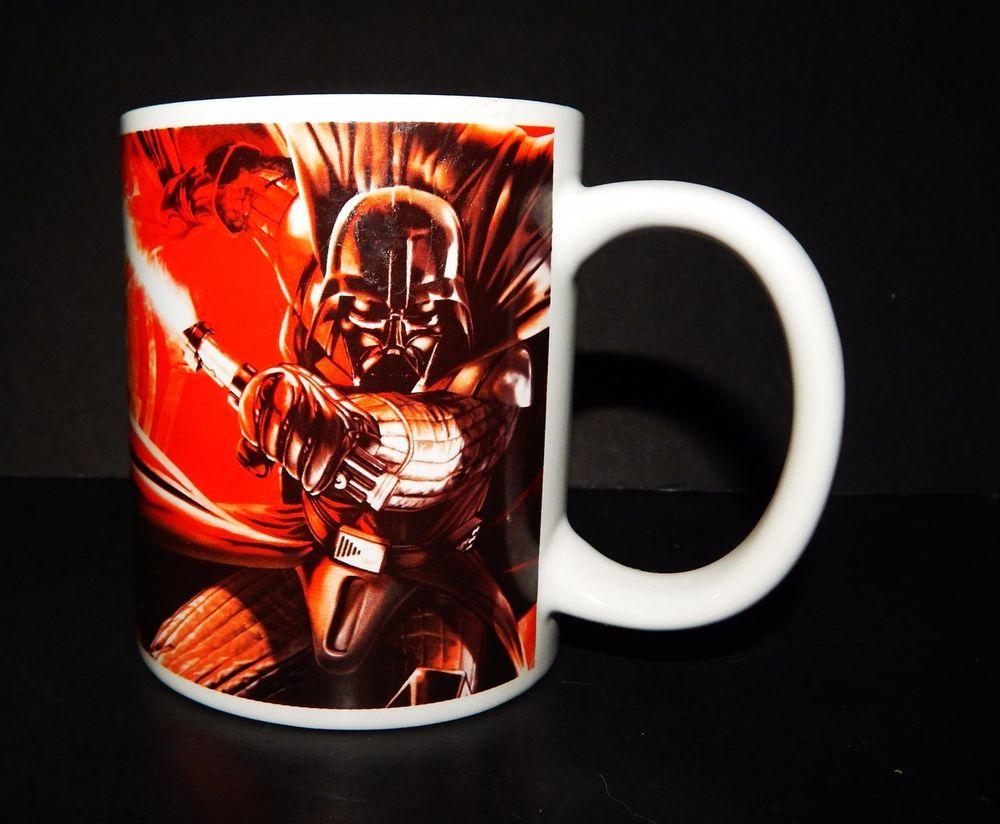 Star Wars Coffee Mug Galerie Lucasfilm Licensed Luke Skywalker Darth Vader Cup Muggalerie Star Wars Mugs Mugs Star Wars