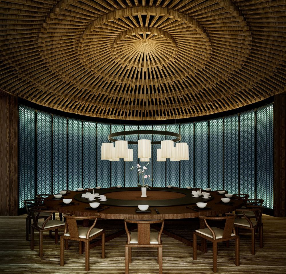 Modern Chinese Interior Design: The Puyu Hotel & Spa, Wuhan, China By Layan Design Group