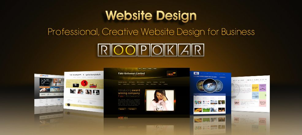 Roopokar is now the best website design and development company in Bangladesh.  Our core services include website design, web development, email design, landing page design, web application, Facebook application, digital content creation for emarketing campaign etc. For more information, please visit http://www.roopokar.com or call us directly at +8801730642525.