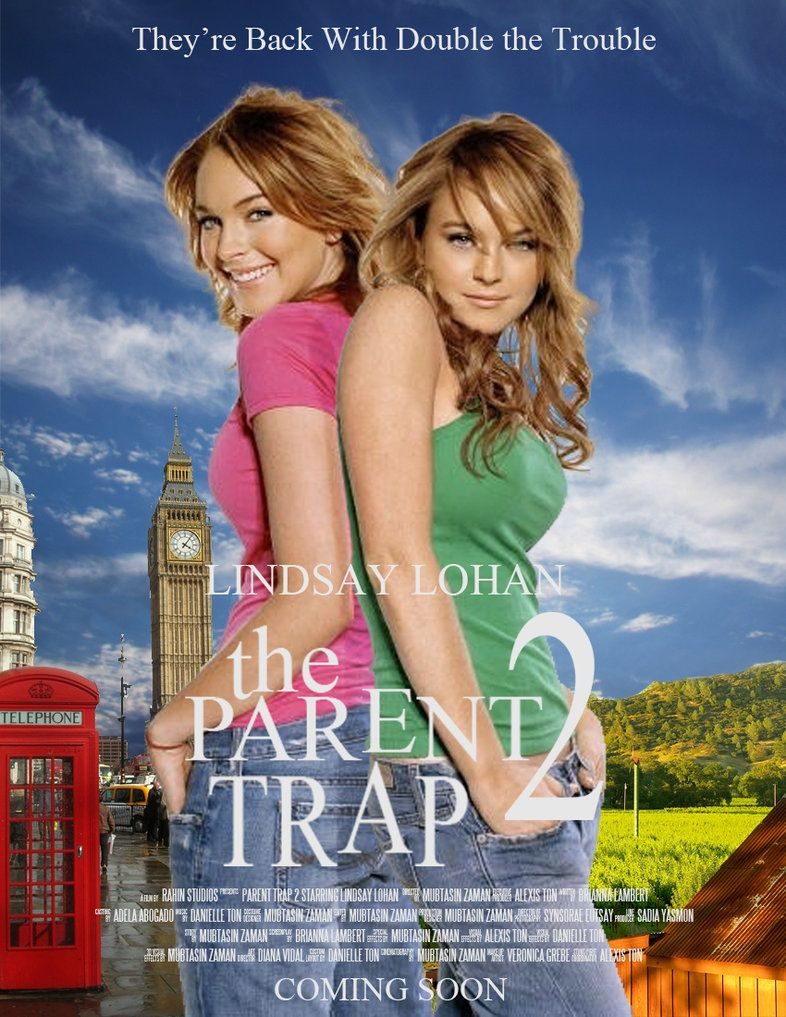 The Parent Trap 2 Poster by yinyang1195 I wish this was a ...
