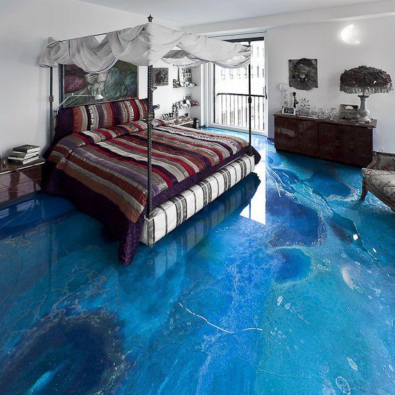 rev tement de sol liquide en r sine finition satin e. Black Bedroom Furniture Sets. Home Design Ideas