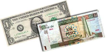 Two Faces Of The Cuban Peso