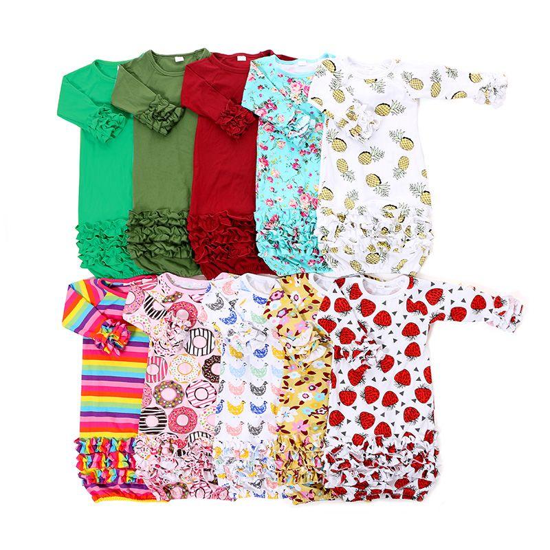 Yiwu Haohao Garments Baby Summer Solid Color Baby SleepWears, View ...