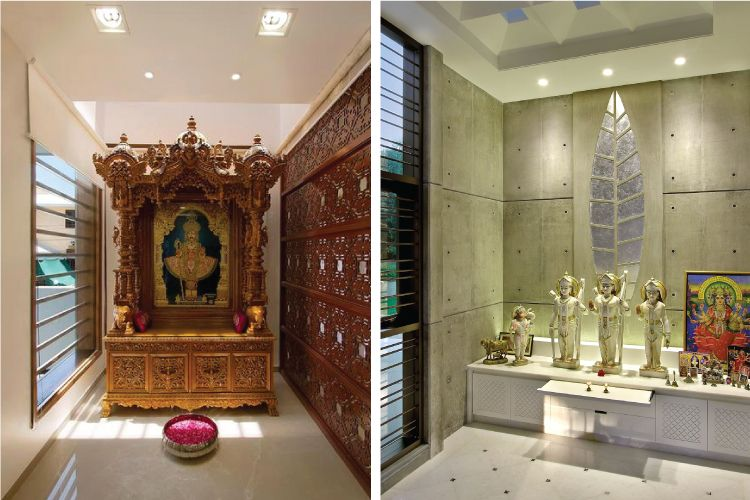 Celestial Design 4 Pooja Room Lights That Are Divine