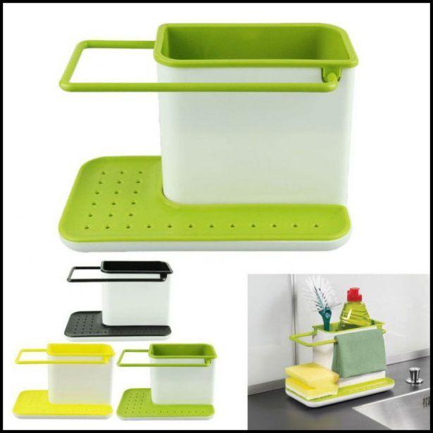 Kitchen Sink Organizers Accessories Green | Kitchen Design ...