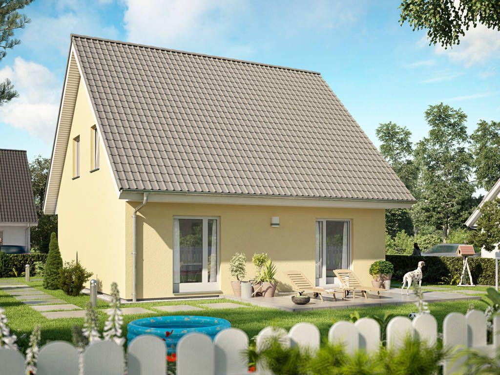 Haus basicline 123 1 6 • singlehaus von prohaus • fertighaus mit quadratischem grundriss