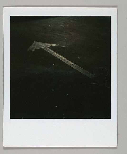 Walker Evans, Street Arrow, 1973 - 1974, The Metropolitan Museum of Art