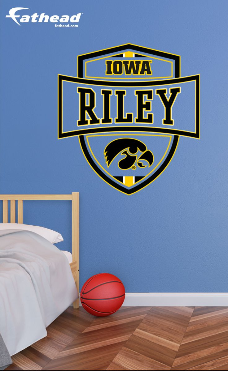 Giant Transfer Decal Basketball Personalized Name