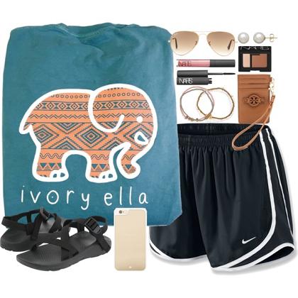 9daecc85989ba7 Shop Ivory Ella! Elephant Patterned