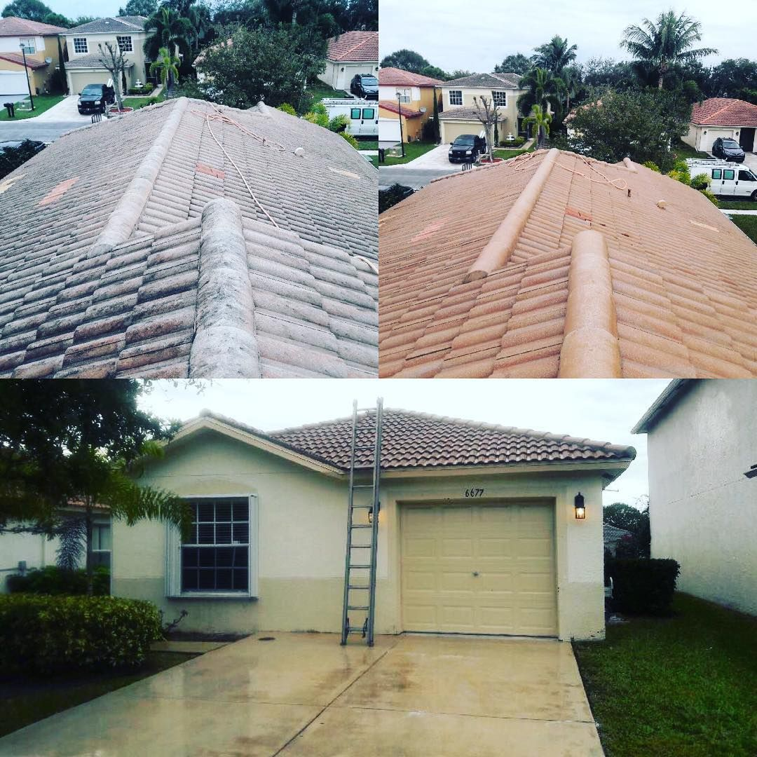 Power and soft washing services commercial and resident
