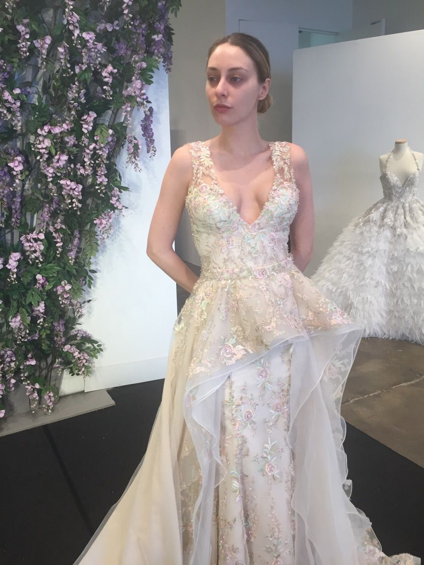 be763a31b8c Ysa Makino Spring 2017 Collection available at Bridal Reflection in New York