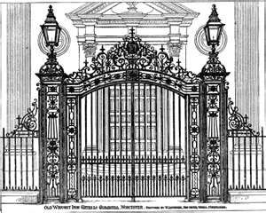 Gates Inspiration Old Wrought Iron Gates Guildhall With