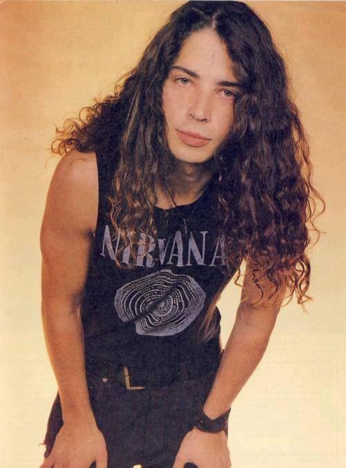 0d29fe0b87b93 Chris Cornell in his Nirvana shirt