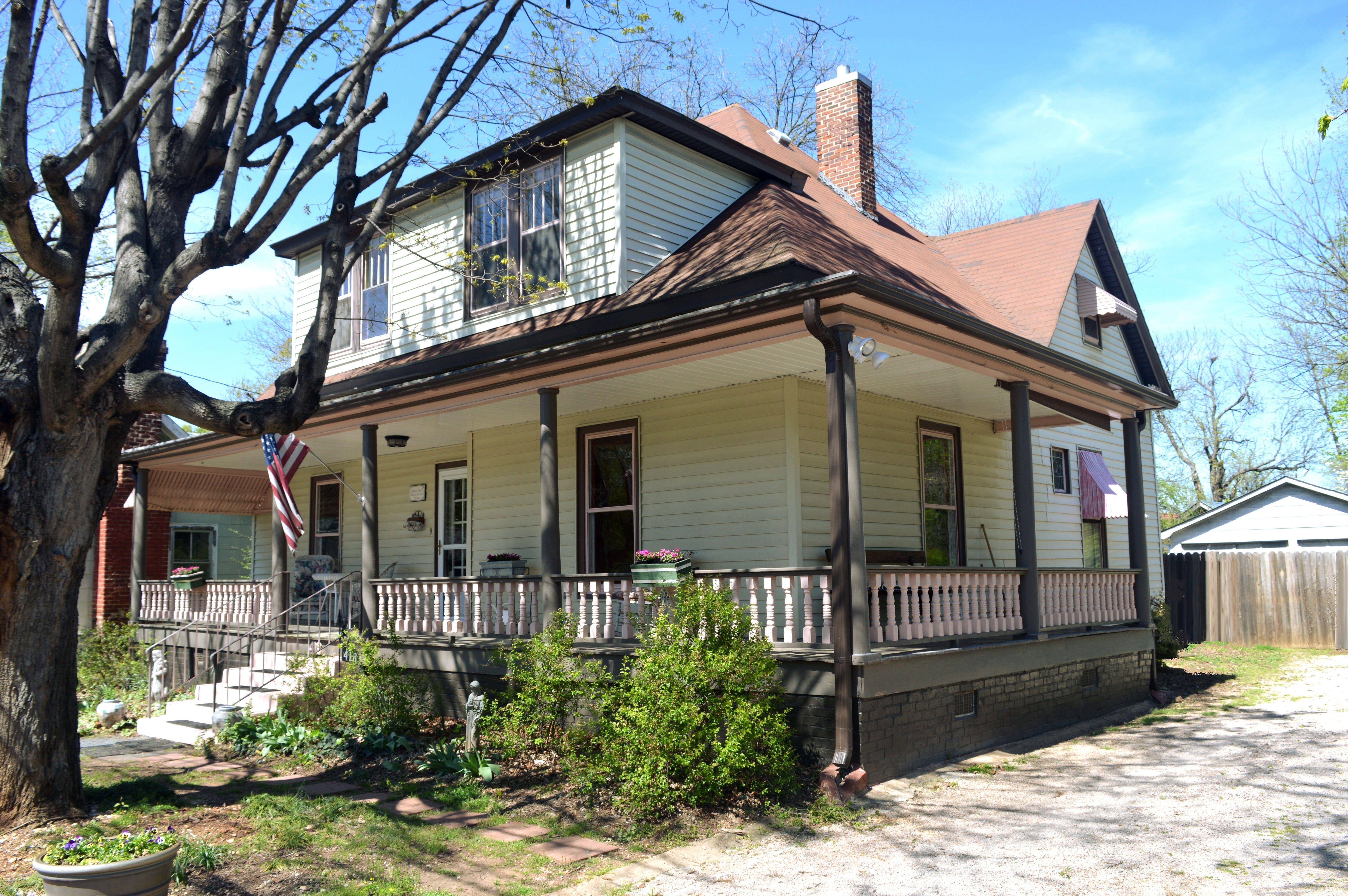 Circa 1875 shavertrexler house great wraparound front