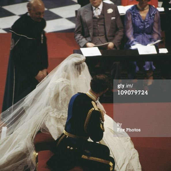 News Photo : The wedding of Charles Prince of Wales and Lady...