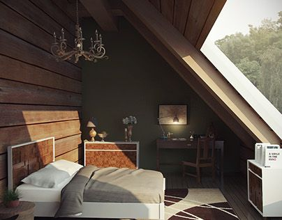 """Check out new work on my @Behance portfolio: """"West Elm Bedroom"""" http://be.net/gallery/34354619/West-Elm-Bedroom"""