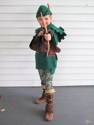 DIY Handmade kids Robin Hood and Friar Tuck Halloween costumes & DIY Handmade kids Robin Hood and Friar Tuck Halloween costumes ...