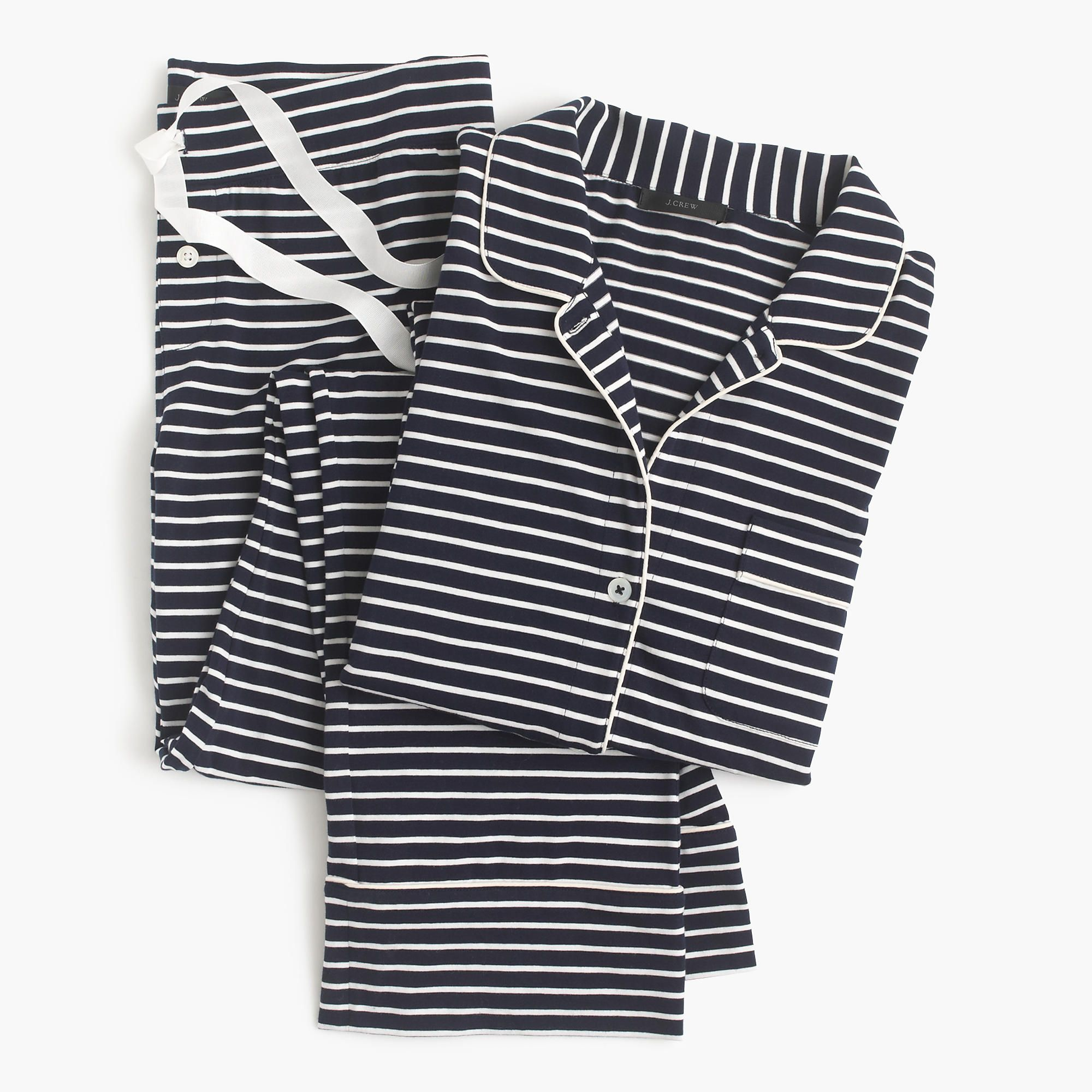 9379b927e Shop the Dreamy Cotton Pajama Set In Stripe at JCrew.com and see our entire  selection of Women's Pajamas & Sleepwear.