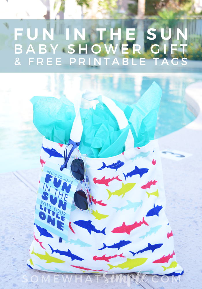Fun In The Sun Baby Shower Gift Idea + Free Printable