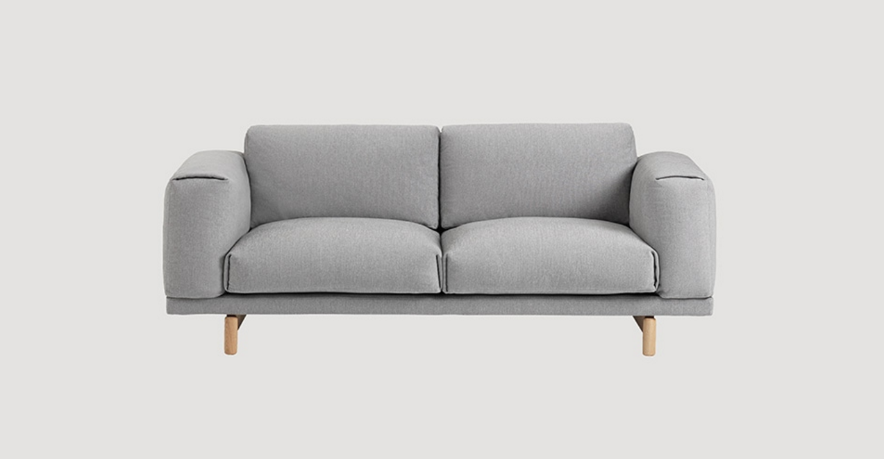 Rest two-seat sofa, Muuto. Anderssen & Voll. | 沙发 | Pinterest