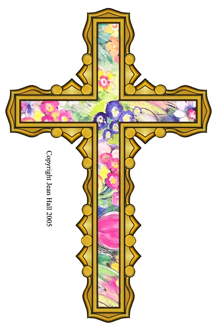 artbyjean easter clip art some easter clip art crosses with rh pinterest ca easter cross clipart images easter cross clipart free