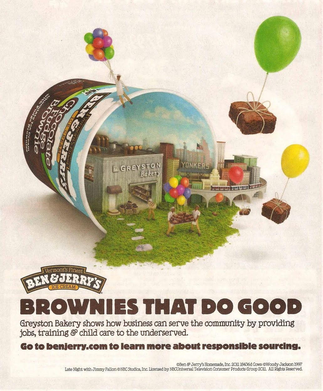 Ben Jerry S Advertising Ben And Jerrys Brand Magazine