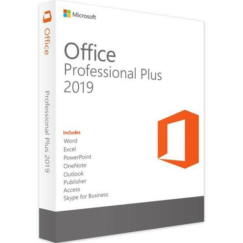 Microsoft Office 2019 Pro Plus For 5 Pcs Microsoft Office Microsoft Microsoft Software