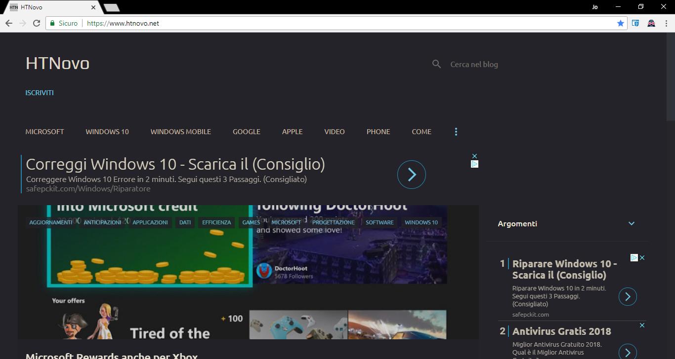 Questa estensione per Chrome e Firefox aggiunge una Dark