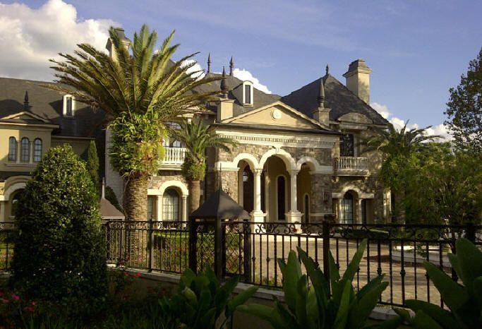 Beautiful Luxury Home Dream House Floor Plans Designs in American ...