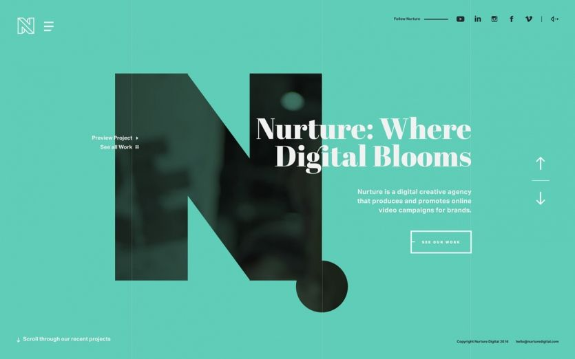 Adayinthelandofnobody Digital Creative Agency Web Design Agency Website Inspiration