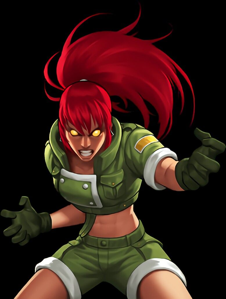 Pin De Ryugasaki Li Em K O F Jogos De Luta Personagem Modelo King Of Fighters