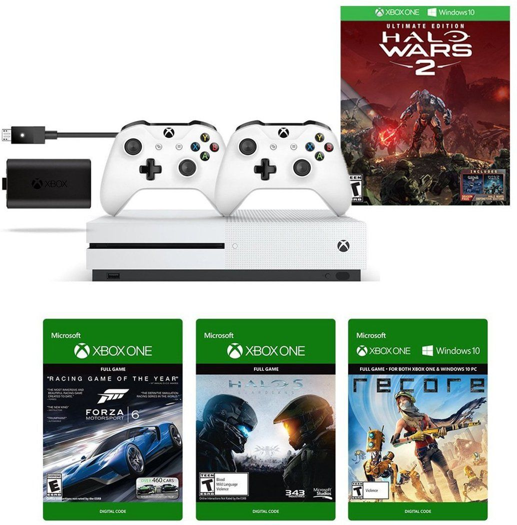 Get an Xbox 1s for a nice price with Accessories and 3 games