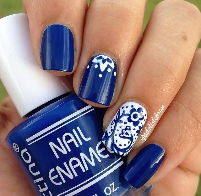Pin By Jadalyn Richardson On Nail Designs Pinterest Nails Blue