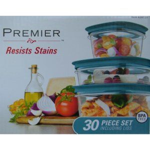 Rubbermaid Premier 30 Piece Teal Easy Find Lids Food Storage Set  sc 1 st  Pinterest & Rubbermaid Premier 30 Piece Teal Easy Find Lids Food Storage Set ...