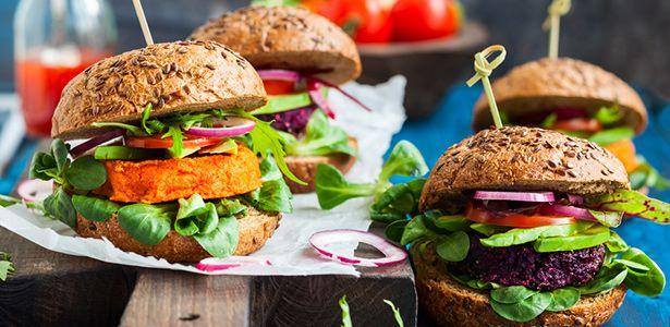 gesunde vegane Burger