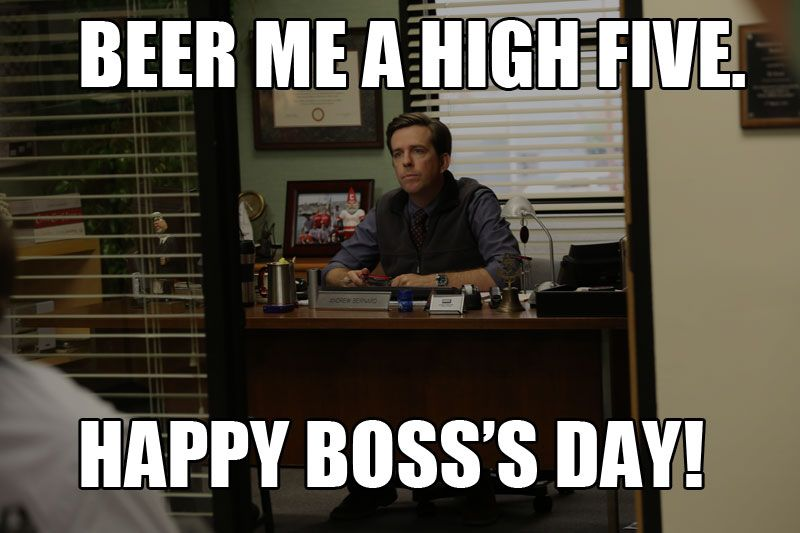 Happy Boss S Day The Office Happy Boss S Day Bosses Day Office Quotes