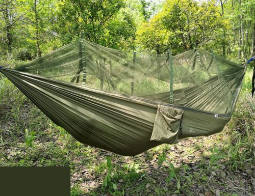 Outdoor Jungle Hammock Double Person Swing Bed Travel Camping With