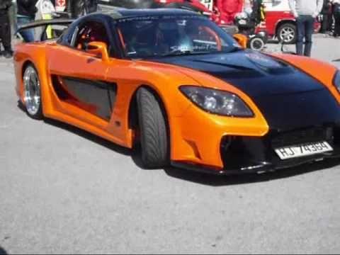 Mazda Rx Tokyo Drift Veilside Fortune Custom Darlings