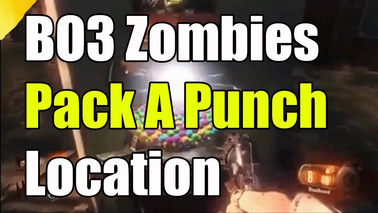 Black Ops 3 Zombies Der Eisendrache How To Build Pack A Punch