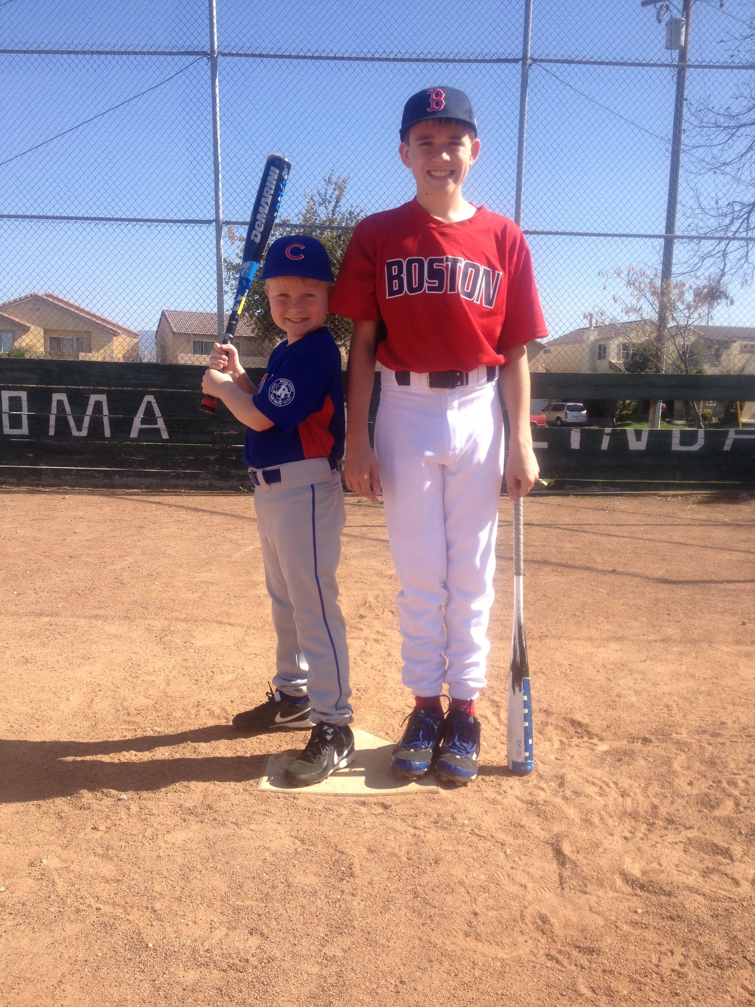 Carson 8 and conner 12 picture day march 2014